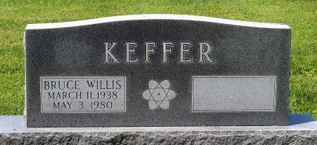 KEFFER, BRUCE WILLIS - King William County, Virginia   BRUCE WILLIS KEFFER - Virginia Gravestone Photos