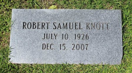 KNOTT, ROBERT SAMUEL - King William County, Virginia   ROBERT SAMUEL KNOTT - Virginia Gravestone Photos