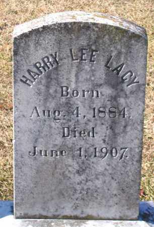 LACY, HARRY LEE - King William County, Virginia   HARRY LEE LACY - Virginia Gravestone Photos