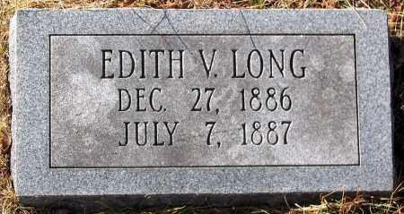 LONG, EDITH V. - King William County, Virginia   EDITH V. LONG - Virginia Gravestone Photos