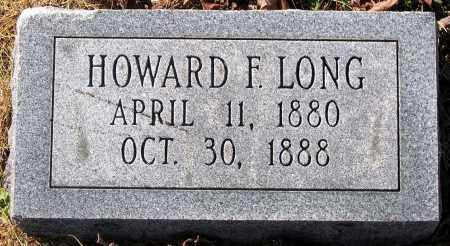 LONG, HOWARD F. - King William County, Virginia   HOWARD F. LONG - Virginia Gravestone Photos