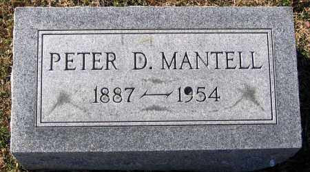 MANTELL, PETER D. - King William County, Virginia | PETER D. MANTELL - Virginia Gravestone Photos