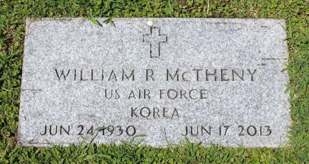 MCTHENY, WILLIAM R. - King William County, Virginia | WILLIAM R. MCTHENY - Virginia Gravestone Photos