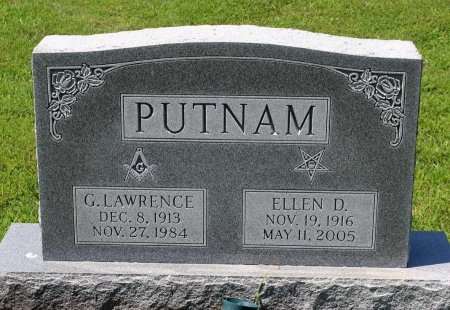 PUTNAM, ELLEN D. - King William County, Virginia   ELLEN D. PUTNAM - Virginia Gravestone Photos