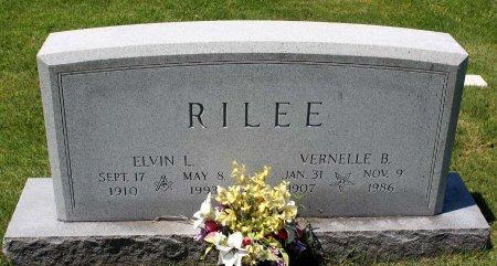 RILEE, ELVIN L. - King William County, Virginia | ELVIN L. RILEE - Virginia Gravestone Photos