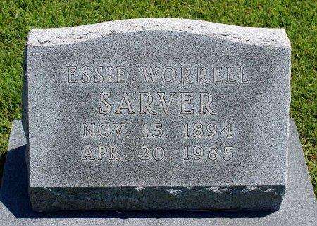 SARVER, ESSIE - King William County, Virginia | ESSIE SARVER - Virginia Gravestone Photos