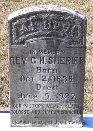 SHERIFF, G. H. - King William County, Virginia | G. H. SHERIFF - Virginia Gravestone Photos