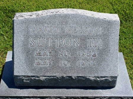 SUTTON, DAVID NELSON III - King William County, Virginia | DAVID NELSON III SUTTON - Virginia Gravestone Photos