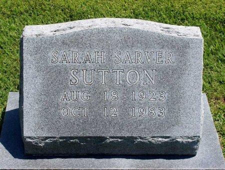 SUTTON, SARAH - King William County, Virginia | SARAH SUTTON - Virginia Gravestone Photos