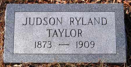 TAYLOR, JUDSON RYLAND - King William County, Virginia   JUDSON RYLAND TAYLOR - Virginia Gravestone Photos