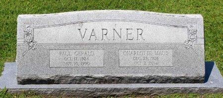 MAUS VARNER, CHARLOTTE - King William County, Virginia | CHARLOTTE MAUS VARNER - Virginia Gravestone Photos