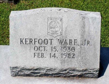 WARE, KERFOOT JR. - King William County, Virginia   KERFOOT JR. WARE - Virginia Gravestone Photos