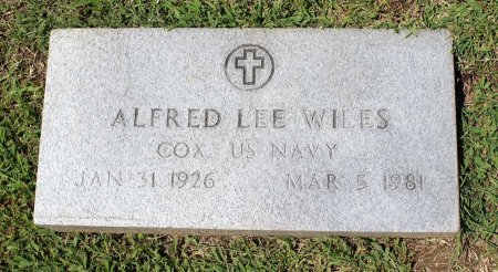 WILES, ALFRED LEE - King William County, Virginia | ALFRED LEE WILES - Virginia Gravestone Photos