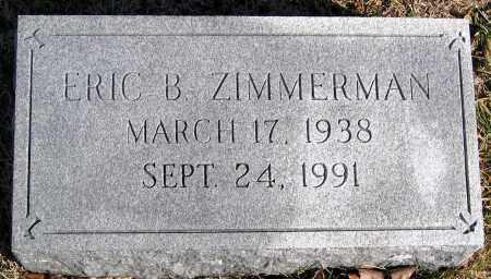 ZIMMERMAN, ERIC B. - King William County, Virginia   ERIC B. ZIMMERMAN - Virginia Gravestone Photos