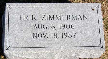 ZIMMERMAN, ERIK - King William County, Virginia   ERIK ZIMMERMAN - Virginia Gravestone Photos