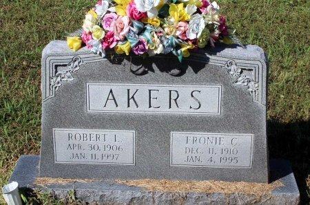 AKERS, FRONIE C. - Lancaster County, Virginia   FRONIE C. AKERS - Virginia Gravestone Photos