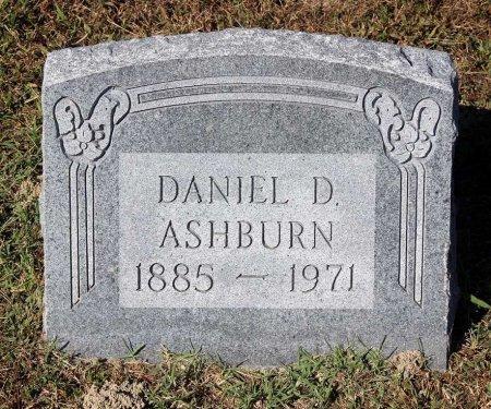ASHBURN, DANIEL D. - Lancaster County, Virginia | DANIEL D. ASHBURN - Virginia Gravestone Photos