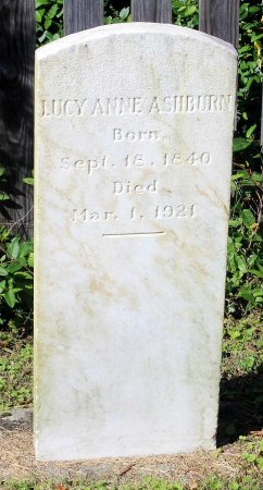 ASHBURN, LUCY ANNE - Lancaster County, Virginia | LUCY ANNE ASHBURN - Virginia Gravestone Photos