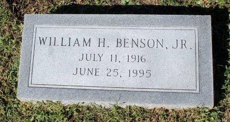 BENSON, WILLIAM H. JR. - Lancaster County, Virginia   WILLIAM H. JR. BENSON - Virginia Gravestone Photos