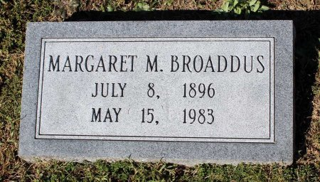 BROADDUS, MARGARET M. - Lancaster County, Virginia   MARGARET M. BROADDUS - Virginia Gravestone Photos