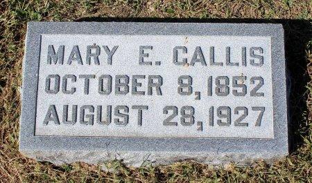 CALLIS, MARY E. - Lancaster County, Virginia   MARY E. CALLIS - Virginia Gravestone Photos