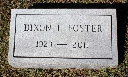 FOSTER, DIXON L. - Lancaster County, Virginia | DIXON L. FOSTER - Virginia Gravestone Photos