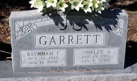 GARRETT, BAYNHAM T. - Lancaster County, Virginia   BAYNHAM T. GARRETT - Virginia Gravestone Photos