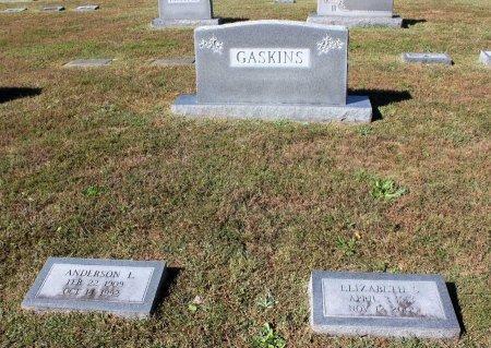 GASKINS, ANDERSON L. - Lancaster County, Virginia | ANDERSON L. GASKINS - Virginia Gravestone Photos