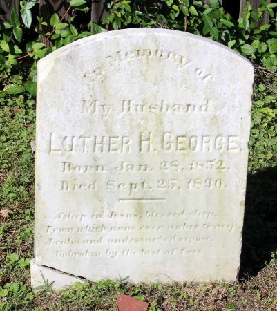 GEORGE, LUTHER H. - Lancaster County, Virginia | LUTHER H. GEORGE - Virginia Gravestone Photos