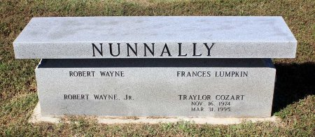 NUNNALLY, TRAYLOR COZART - Lancaster County, Virginia   TRAYLOR COZART NUNNALLY - Virginia Gravestone Photos