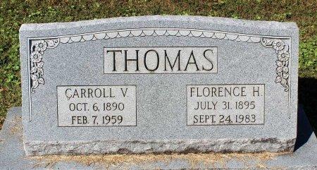 THOMAS, CARROLL V. - Lancaster County, Virginia | CARROLL V. THOMAS - Virginia Gravestone Photos