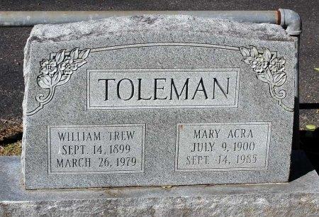 TOLEMAN, MARY - Lancaster County, Virginia | MARY TOLEMAN - Virginia Gravestone Photos