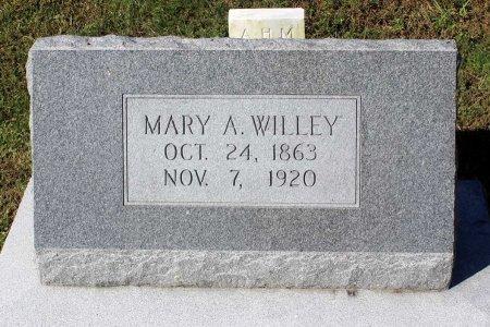 WILLEY, MARY A. - Lancaster County, Virginia   MARY A. WILLEY - Virginia Gravestone Photos