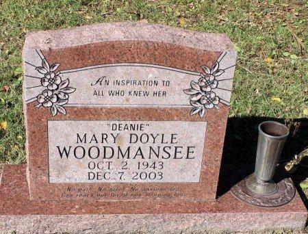 WOODMANSEE, MARY  - Lancaster County, Virginia | MARY  WOODMANSEE - Virginia Gravestone Photos
