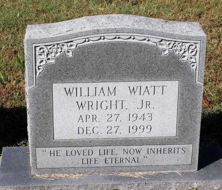 WRIGHT, WILLIAM WIATT JR. - Lancaster County, Virginia | WILLIAM WIATT JR. WRIGHT - Virginia Gravestone Photos