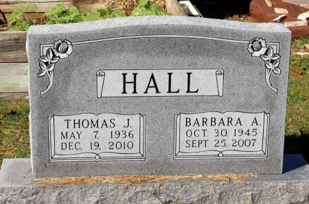 HALL, BARBARA A. - Lancaster County, Virginia | BARBARA A. HALL - Virginia Gravestone Photos