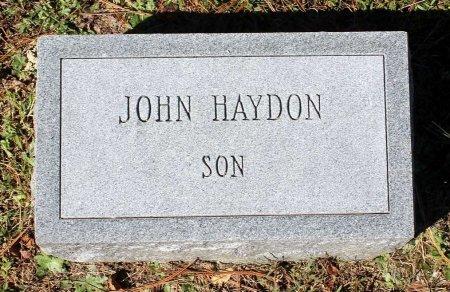 HAYDON, JOHN - Lancaster County, Virginia | JOHN HAYDON - Virginia Gravestone Photos