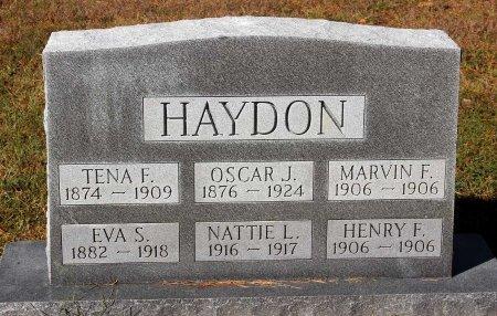 HAYDON, OSCAR J. - Lancaster County, Virginia | OSCAR J. HAYDON - Virginia Gravestone Photos