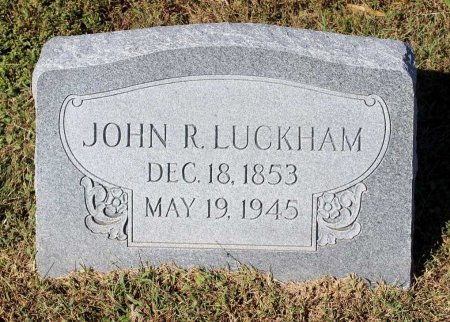LUCKHAM, JOHN R. - Lancaster County, Virginia | JOHN R. LUCKHAM - Virginia Gravestone Photos