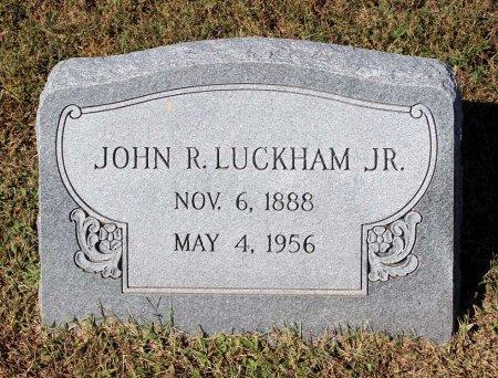 LUCKHAM, JOHN R. JR. - Lancaster County, Virginia   JOHN R. JR. LUCKHAM - Virginia Gravestone Photos