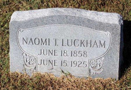 LUCKHAM, NAOMI T. - Lancaster County, Virginia | NAOMI T. LUCKHAM - Virginia Gravestone Photos