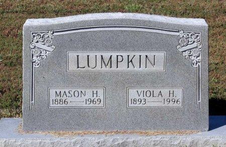 LUMPKIN, MASON H. - Lancaster County, Virginia | MASON H. LUMPKIN - Virginia Gravestone Photos