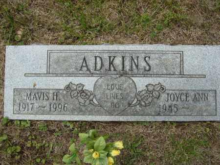 ADKINS, JOYCE - Lee County, Virginia | JOYCE ADKINS - Virginia Gravestone Photos