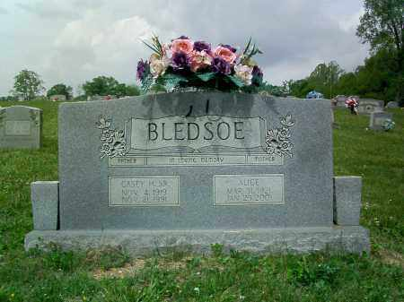 BLEDSOE, CASEY - Lee County, Virginia | CASEY BLEDSOE - Virginia Gravestone Photos