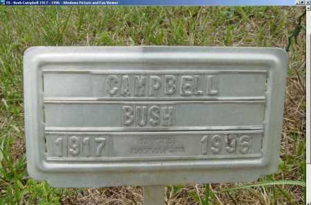 BUSH, CAMPBELL - Lee County, Virginia | CAMPBELL BUSH - Virginia Gravestone Photos