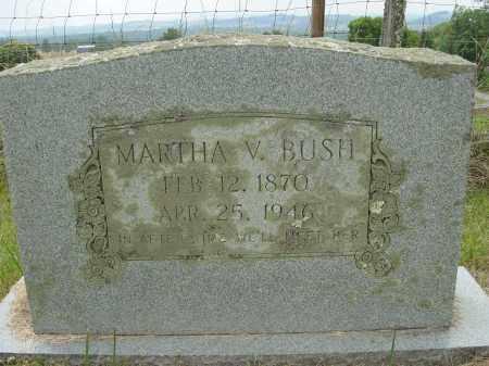 BUSH, MARTHA - Lee County, Virginia | MARTHA BUSH - Virginia Gravestone Photos