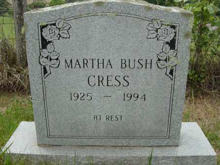 CRESS, MARTHA - Lee County, Virginia | MARTHA CRESS - Virginia Gravestone Photos