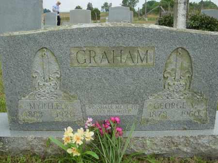 RATCLIFF GRAHAM, MYRTLE - Lee County, Virginia | MYRTLE RATCLIFF GRAHAM - Virginia Gravestone Photos