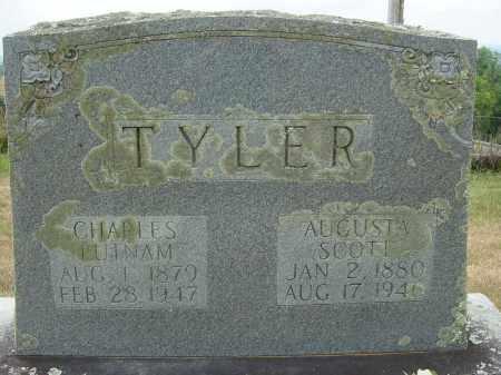 SCOTT TYLER, AUGUSTA - Lee County, Virginia | AUGUSTA SCOTT TYLER - Virginia Gravestone Photos