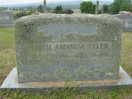 TYLER, EDITH - Lee County, Virginia | EDITH TYLER - Virginia Gravestone Photos